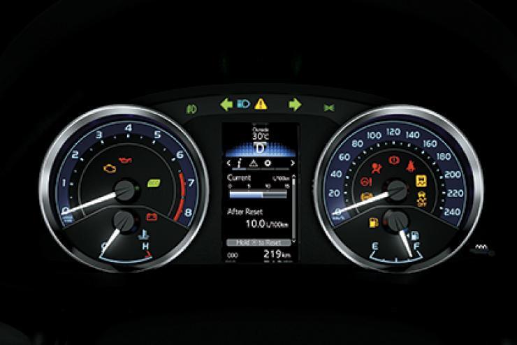 Bảng đồng hồ và màn hình hiển thị đa thông tin